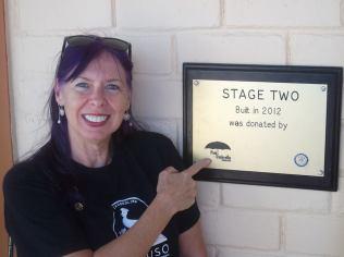 Pink Umbrella Foundation's Director Sue O'Neill