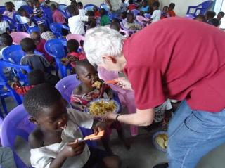 Feeding Program - Congo visit #7