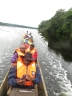 The 300 km canoe journey took us about 19 hours and we arrived at 2 am